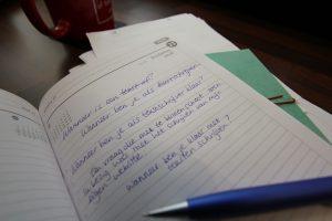 Wanneer ben je als tekstschrijver klaar?